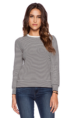 DemyLee Annie Pullover in Black & White