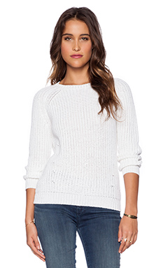 DemyLee Nao Pullover in White