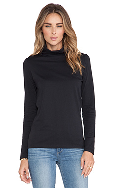 DemyLee Jenna Turtleneck Sweater in Black
