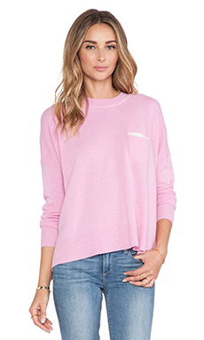 DemyLee Bennie Cashmere Sweater in Pink