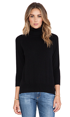 DemyLee Kaia Cashmere Sweater in Black