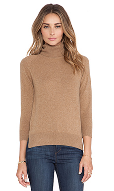DemyLee Kaia Cashmere Sweater in Camel