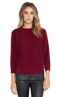 DemyLee Minnie Sweater in Burgundy