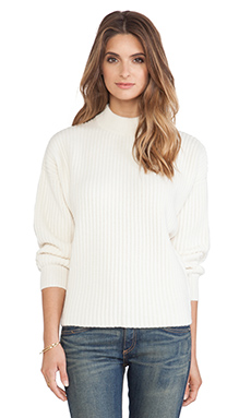 DemyLee Lawrence Cashmere Sweater in White