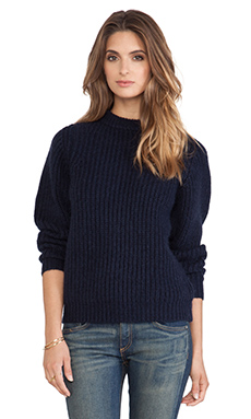 DemyLee Josephina Sweater in Navy