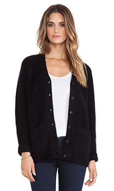 DemyLee Oversize Cardigan in Black