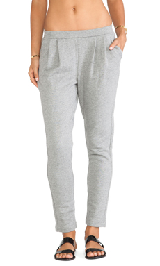 DemyLee Bobby Pant in Heather Grey