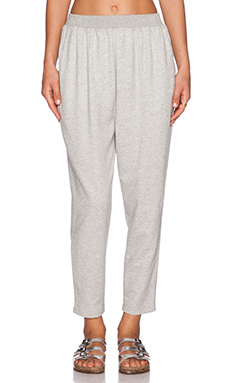 DemyLee Finley Pant in Heather Grey