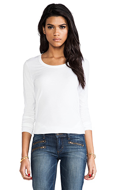 DemyLee Parker Long Sleeve in White