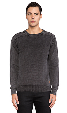 Deus Ex Machina Cigar Sweater in Black
