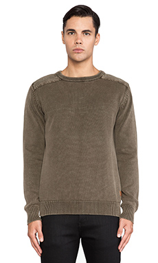 Deus Ex Machina Cigar Sweater in Olive