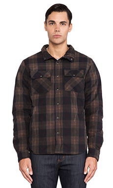 Deus Ex Machina Taka Jacket in Brown Check