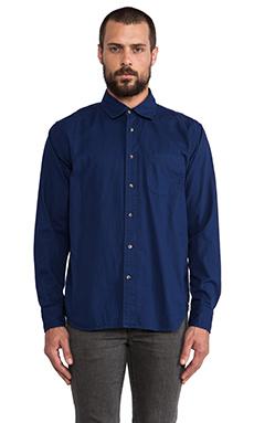 Deus Ex Machina The Stan Shirt in Navy