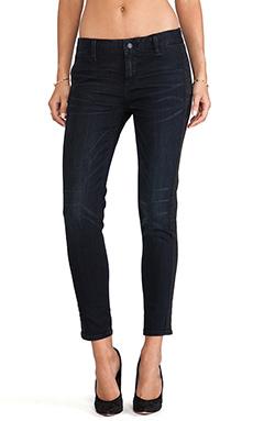 D-ID St Tropez Tuxedo Crop Skinny in Blue Black