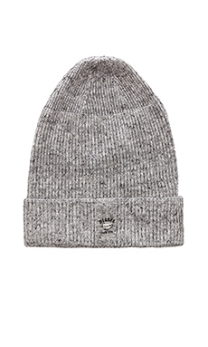 Diesel Senta Beanie in Lt Heather Grey
