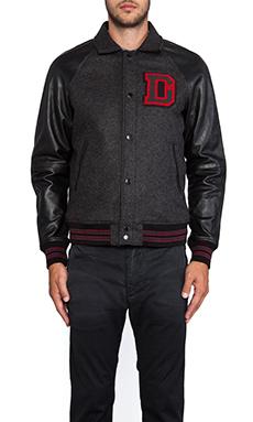 Diesel Dayan Varisty Jacket in Black