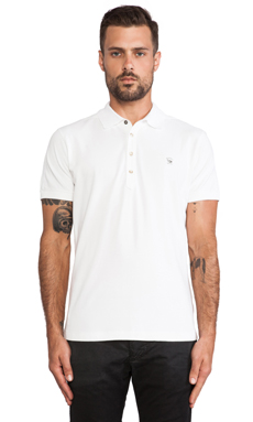 Diesel Alfred Polo in White