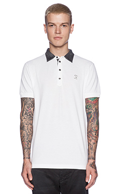 Diesel Antho Polo in White