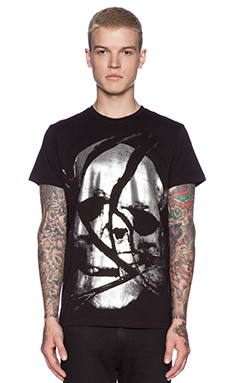 Diesel Gaho Tee in Black