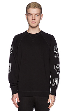 Diesel Hun Sweatshirt in Black