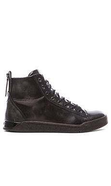 Diesel Tempus Diamond High Top in Black