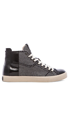 Diesel D Velows D Tape High Top in Black