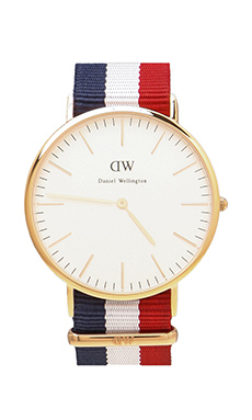 Daniel Wellington Cambridge 40mm in Rose Gold