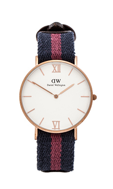 Daniel Wellington Grace Collection London in Sandblasted Rose Gold