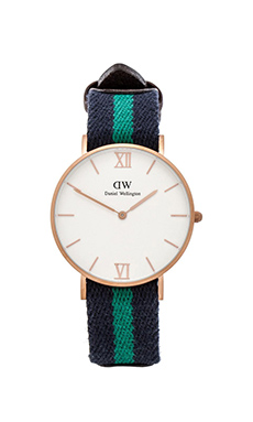 Daniel Wellington Grace Collection Warwick in Sandblasted Rose Gold