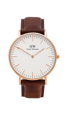 Daniel Wellington Classic St. Andrews Lady 36mm in Rose Gold