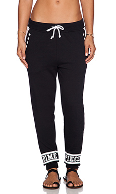 Dimepiece All Star Jogger Sweatpant in Black