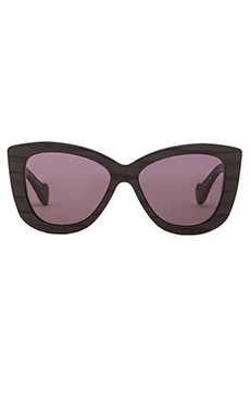Dita Vesoul Sunglasses in Black Swirl & Dark Grey Lenses