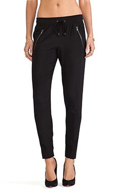 David Lerner Silk Randall Pants in Black
