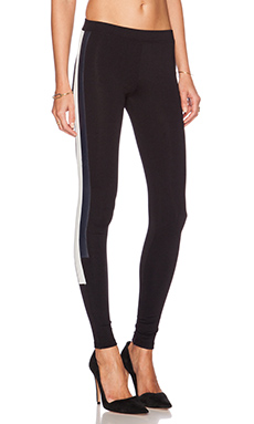 David Lerner James Legging in Black & White