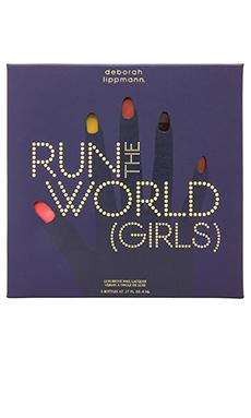 Deborah Lippmann 5 Piece Nail Lacquer Gift Set in Run the World