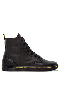 Dr. Martens Leyton 7-Eye Boot in Black