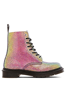 Dr. Martens Pascal 8-Eye Boot in Violet