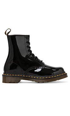 Dr. Martens Modern Classic 8 Eye Boot in Black Patent