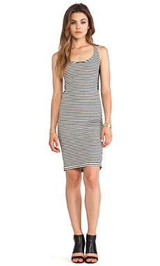 David Michael Con Dress in Stripe