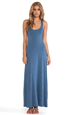 dolan Tank Maxi Dress in Ash Blue