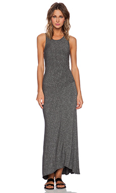 dolan Classic Slub Maxi Dress in Stone
