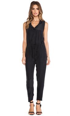 dolan Sleeveless Jumpsuit in Black