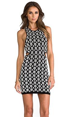 DV by Dolce Vita Pernita Dress in Black/White