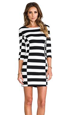 Dolce Vita Royce Dress in Black/White