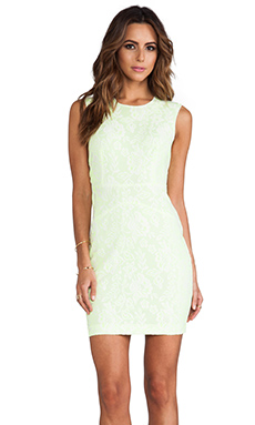 Dolce Vita Baccus Dress in Yellow & White