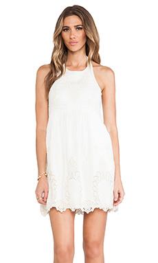 Dolce Vita Adelina Dress in White & Natural