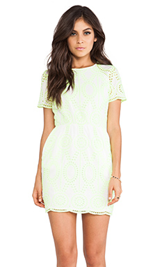 DV by Dolce Vita Sarus Dress in Neon Yellow