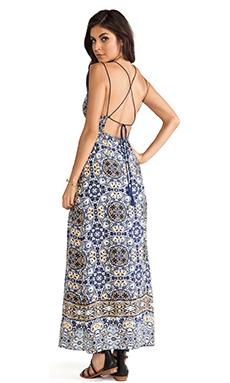 Dolce Vita Ayat Dress in Blue Print