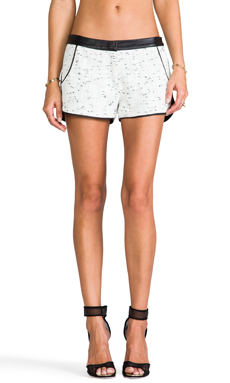 Dolce Vita Mercer Shorts in Black/White