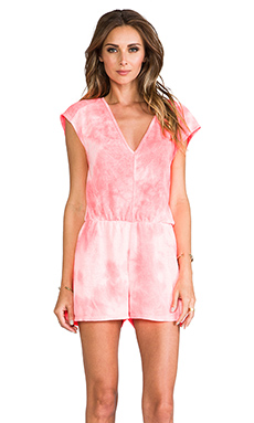 DV by Dolce Vita Tommy Romper in Pink